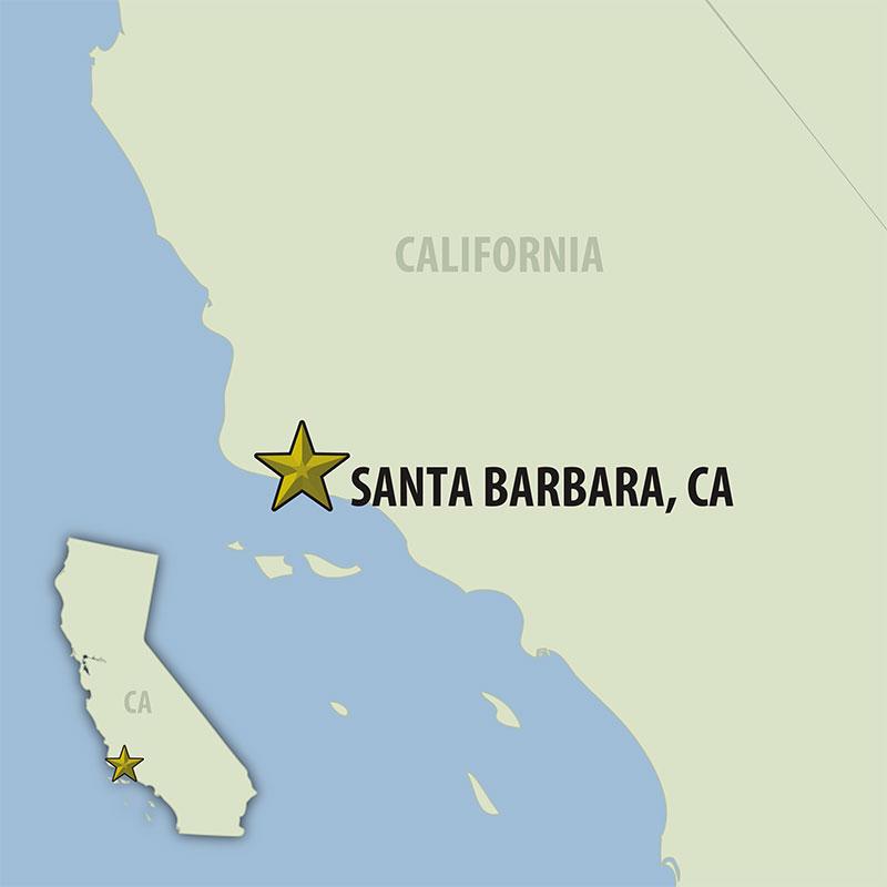 6 Day Santa Barbara Rally (06USBF-093020) Map