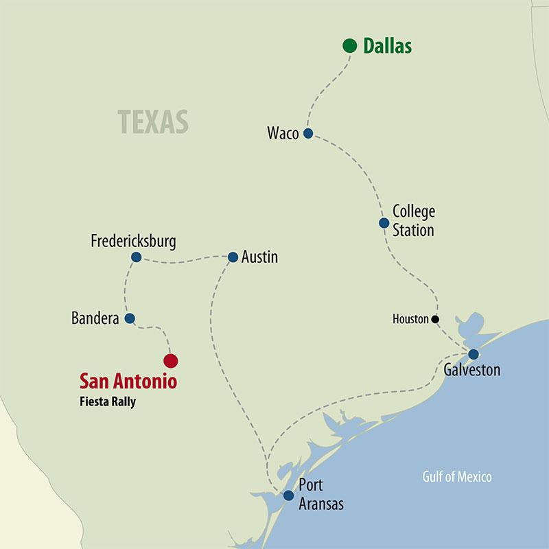 25 Day Heart of Texas (25UHTF-030722) Map