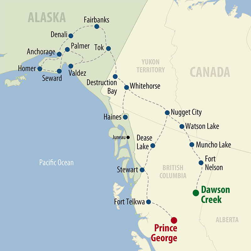 50 Day Grand Alaska (50AGAW-071220) Map