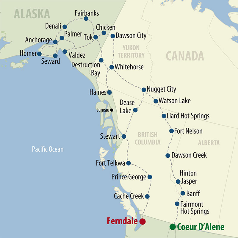 60 Day Premier Alaska (60APAP-061223) Map