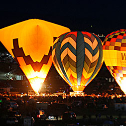 Balloon glows, mass ascensions, competitive challenges and hands-on action.