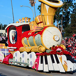 Everything is coming up roses at this renowned event of parades and pageantry.