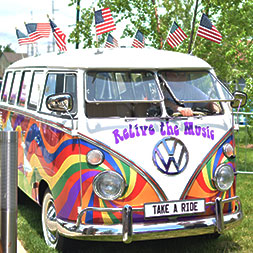 A VIP experience at the world's largest Beatles and 60's music festival.
