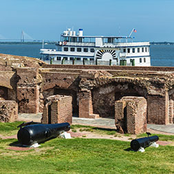 Follow the path of the Civil War and visit historic sites along the way.
