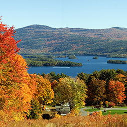 Fill your cornucopia of fall finery in New Hampshire, Vermont and New York.