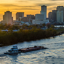 Wander the route of the Mighty Mississippi, from the headwaters to the delta.